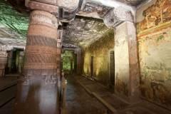 Ajanta Cave 2, hall, right aisle