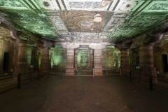 Ajanta Cave 2, hall